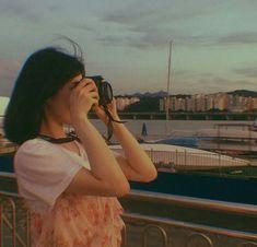 Korean Aesthetic, Aesthetic Photo, Aesthetic Girl, Aesthetic Pictures, Korean Girl Photo, Cute Korean Girl, Tumblr Photography, Girl Photography Poses, Uzzlang Girl