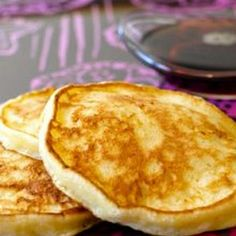 Cottage Cheese Pancakes: Looking to switch up breakfast? These Cottage Cheese Pancakes taste great! Did I mention there is also vanilla and honey in the recipe?