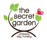 our lovely fresh looking logo for the secret garden nursery logos pinterest
