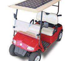 SunRay SX2 - Solar Powered Golf Cart...nice, but I'd camo paint it.