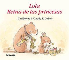 Lola corre hacia el árbol de Navidad para abrir sus regalos y descubre una pequeña corona de papel dorado. Sus padres se la colocan sobre la cabeza y ella se siente muy especial....(A partir de 3 años).
