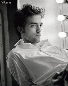 See, in Twilight he makes my skin crawl, all whimpy and pale and boring. However, when I see him in interviews, there's something interesting and intriguing. And when I see photos like this, with those eyes, I wonder what he'd really be like between the sheets...! Photo by Bruce Weber