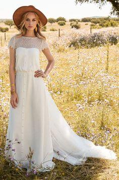 Brautkleider von Rembo Styling - Model Jana