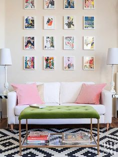Redefine artwork with these common items you can frame, most of which you probably have lying around your home!
