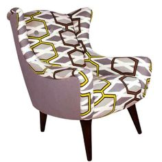 Ocean Lime designers guild wing chair £895!!!
