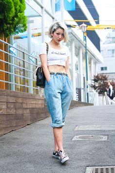 ストリートスナップ原宿 - 夏海君さん   Fashionsnap.com