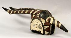 Mossi (Burkina Faso), polychrome Nionoga mask