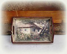 agir / Tácka Tray, Handmade, Home Decor, Hand Made, Decoration Home, Room Decor, Trays, Home Interior Design, Board