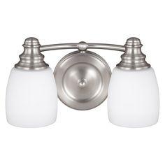 Murray Feiss Bentley 12 in. Vanity Light - VS7402-SN