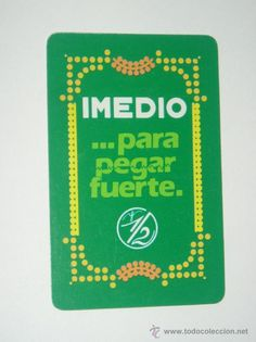 CALENDARIO FOURNIER PEGAMENTO IMEDIO 1988.