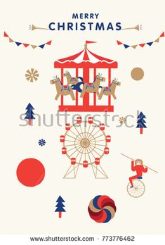 2016 new year card translation of chinese character is happy new christmas greetings template vectorchildren party theme invitation card illustration stopboris Images