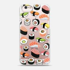 Casetify iPhone 6s Snap Case - Sushi by elmiraamirova #iphone6s,