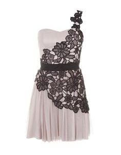 One Shoulder Lace Detail Dress