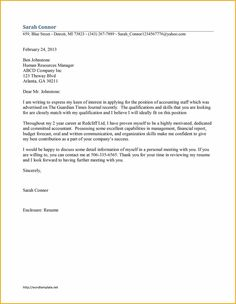 cover letter format librarian