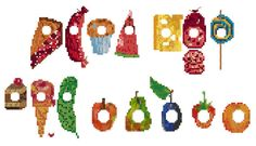 The very hungry caterpillar got into the cross stitch! Cross Stitch For Kids, Cross Stitch Charts, Cross Stitch Designs, Cross Stitch Patterns, Cross Stitching, Cross Stitch Embroidery, Hand Embroidery, Embroidery Ideas, Alpha Patterns