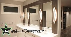 #BuildDifferent means your vanity is an expression of functionality.  #YQR #ModernHome #CustomBuild #CustomHomes #quality #modern #original #home #design #imagine #creative #style #realestate #trueoriginal #dreamhome #architecture #dreamhomes #interior #YQRbuilds #construction #house #builder #homebuilder #showhome #beautiful #preparation #dream #DamnGoodHouses