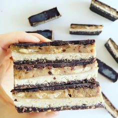 Raw Vegan Snickers Slice < Sugar Free Sweets & Treats < Recipes | Coconut Magic