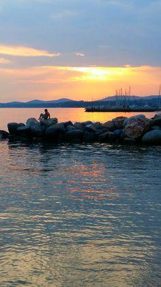 Nikiti, Halkidiki Greece, Celestial, Mountains, Sunset, World, Nature, Travel, Outdoor, Greece Country
