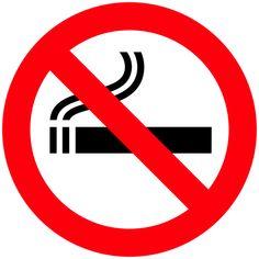 No Smoking Sign PNG Clipart