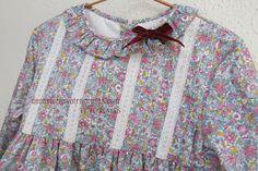De costuras y otras cosas: FRUNCIR CON HILO ELÁSTICO (TRES MÉTODOS) Sewing Lessons, Kurti, Doll Clothes, Diy And Crafts, Sewing Patterns, Ruffle Blouse, Kids, Shirts, Dresses