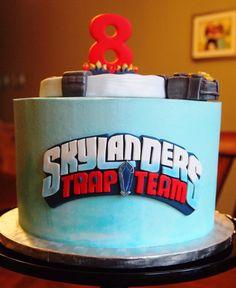 Skylanders Trap Team Cake - Kakes By Kristi.