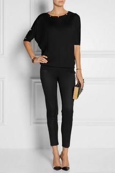 STELLA MCCARTNEY Vivian wool-twill tapered pants £340