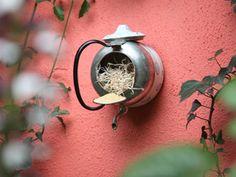 Manualidades y Artesanías   Comedero de aves con pava   Utilisima