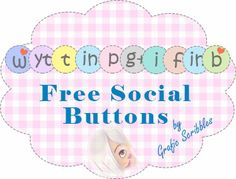 Free Set Social button http://graficscribbles.blogspot.it/2014/04/free-set-social-button-icone-pulsanti.html