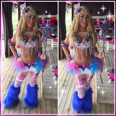 How GORGEOUS is @robincoppola in her @electriclaundry Fairy outfit and @kulturshop crown!! She always kills it in her outfits!! LOVE  Tomorrowworld 2015  Be sure to like our other page @electriclaundrygirls