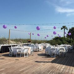 Weddings at the Dunes House are so beautiful. #beach #wedding #planning #ideas #southcarolina