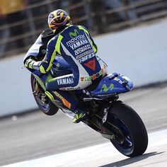 #ValentinoRossi Valentino Rossi: Indianapolis Motor Speedway Sunday,Race Good podium after a difficult week end Shot by Tino Martino