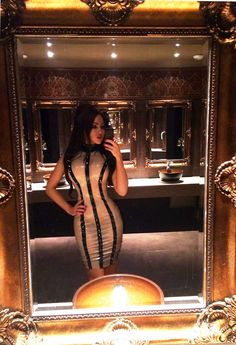 Kataxenna Kamillia Kova Latex Dress Selfie