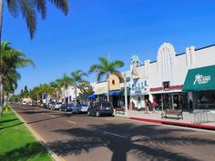 Orange Avenue, Coronado's main street and shopping district, is packed with quaint, local businesses ranging from upscale boutiques to mom-and-pop outposts.