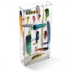 Feather Tiffany Vase by Fringe Studio.  #bohochic #feathers