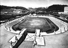 Foto storiche di Roma - Stadio dei Marmi Anno: anni '50
