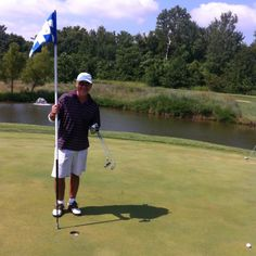 Ken's Hole in One! 2011 at Tapawingo National. St. Louis, MO