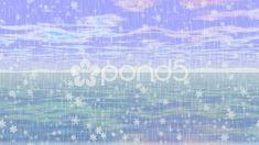Fantasy landscape with sea, sky, snowy horizon, rain and snowfall - Stock Footage Spring Landscape, Fantasy Landscape, Landscape Art, Small Backyard Landscaping, Fire Pit Backyard, Minimalist Landscape, Canvas Painting Landscape, Low Maintenance Landscaping, Landscape Architecture Design