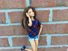 My Made to Move Barbie doll Alisa
