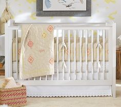 Your baby will be up and moving around before you know it, so choose furniture and accessories that will effortlessly transition from infant to toddler – and eventually, to child.