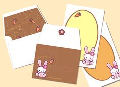Free printable bunny stationary, just in time for spring :) Other free printables on this page too.
