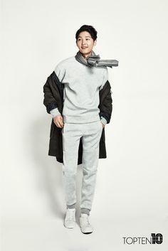 Song Joong Ki 16 F/W TOPTEN10