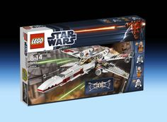 9493 X-Wing Starfighter (2012) - 560 pieces, 4 mini-figures.