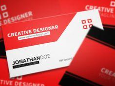 Corporate business card.