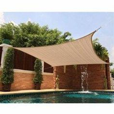fabric patio shades. Fine Shades New Square Sun Shade Sail Cover Canopy Outdoor Patio Yard Pool Sand Beige In Fabric Patio Shades N