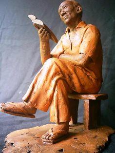 Arte Popular do Brasil: João Borges Arte Popular, Pop Art, Greek, Statue, Funny Art, Etchings, Wood, Mariana, Colors