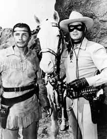 The Lone Ranger ~ Never missed it. Trigger was so smart...Shows my age but a good tv series...custer7thcav