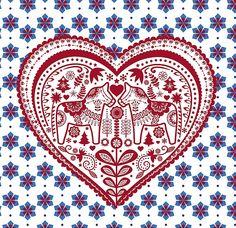 Two little Dala horses kissing Swedish Girls, Swedish Style, Swedish Design, Swedish Decor, Swedish Christmas, Scandinavian Christmas, White Christmas, Xmas, Swedish Tattoo