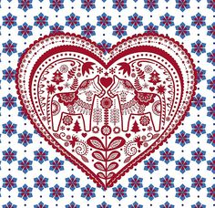 dala love - quilt inspiration