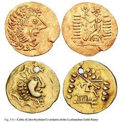 Celtic (Celto-Scythian?) variants of the Lysimachus Gold Stater