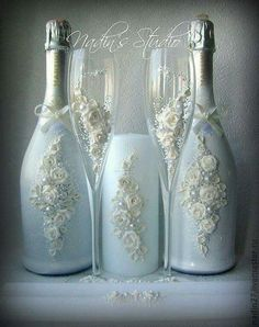 Bride and Groom Glasses..